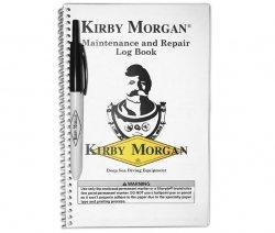 125-001 Kit, Maintenance & Repair Log Book & Pen, Kirby Morgan