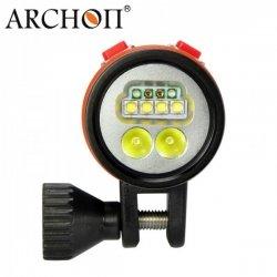 Lampa Archon 2600 lumen, přepínání úhlu světla VIDEO/SPOT