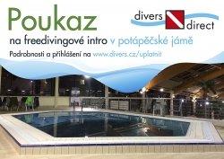 Poukaz dárkový na freedivingové intro