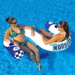Sedačka vodní nafukovací pro 2 osoby Noodler 2 Lounge, KWIKTEK