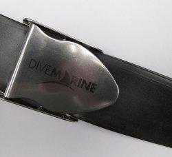 Opasek gumový s nerez. přezkou, Divemarine