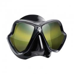 Dvouzorníková maska X-VISION ULTRA LS ZRCADLOVÁ SKLA, Mares