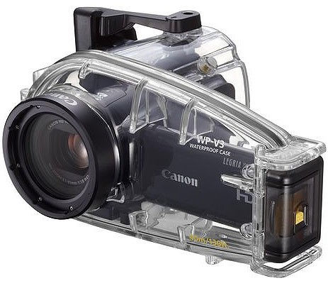 Waterproof video camera cases
